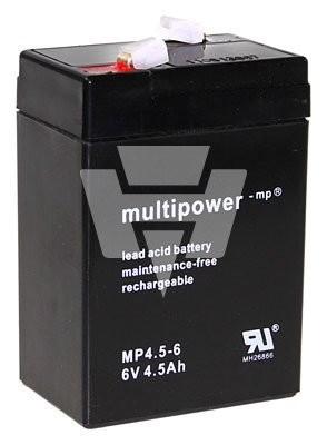 Multipower Blei-Akku MP 4,5-6