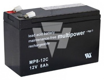 Multipower Blei-Akku MP 8-12C