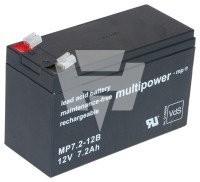 Multipower Blei-Akku MP 7,2-12B