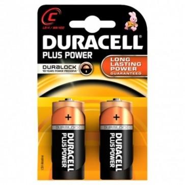 Duracell MN1400 Plus Power Baby Batterie C 2Stk. Pkg.