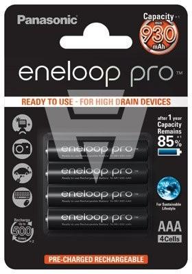 Eneloop Pro Akku Micro AAA BK-4HCDE/4BE 4er Blister