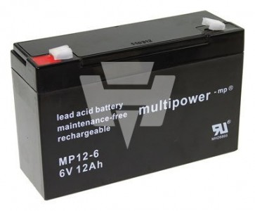 Multipower Blei-Akku MP 12-6