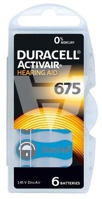 Duracell Hörgerätebatterie D675AC Activair