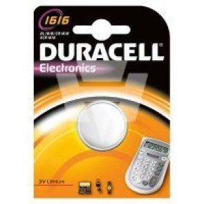 Duracell Lithium Knopfzelle CR1616