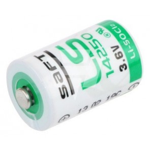 Saft Lithium 3,6V Batterie LS 14250 1/2AA