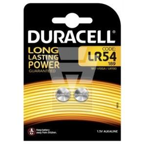 Duracell Alkaline Knopfzelle LR54 2er Blister