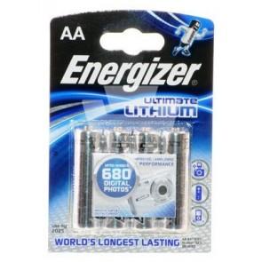 Energizer Ultimate Lithium Batterie 1,5V AA, 4er Pkg.