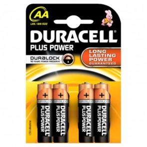 Duracell MN1500 Plus Power Mignon Batterie AA 4Stk. Pkg.