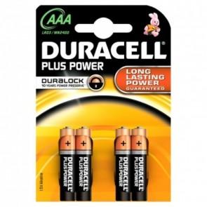 Duracell MN2400 Plus Power Micro Batterie AAA 4Stk. Pkg.