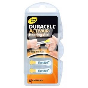 Duracell Hörgerätebatterie D10 Activair