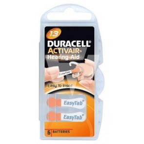Duracell Hörgerätebatterie D13 Activair