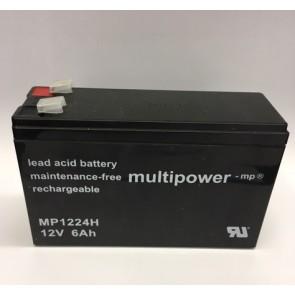 Multipower Blei-Akku MP1224H Pb 12V / 6Ah
