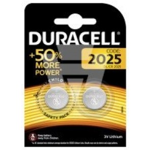 Duracell Lithium Knopfzelle CR2025 (2 Stk. Pkg)