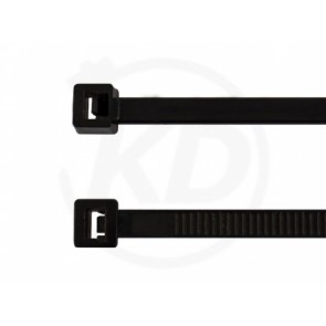 Kabelbinder 4,8 x 360 mm, schwarz, 100 Stk.