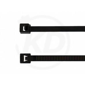 Kabelbinder 3,6 x 290 mm, schwarz, 100 Stk.