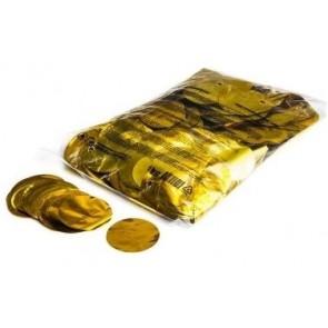 Konfetti metalic rund gold