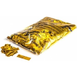 Konfetti metalic Rechteck gold