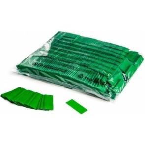 Konfetti Papier Rechteck grün