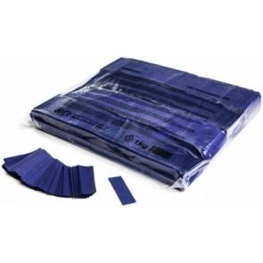 Konfetti Papier Rechteck blau
