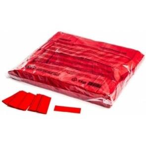 Konfetti Papier Rechteck rot