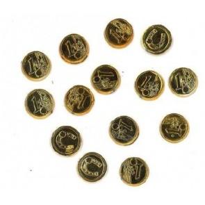 Talis Euromünze gold