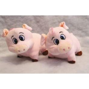 Plüschschwein stehend rosa